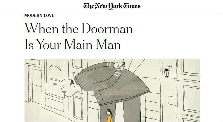 Print de um texto do Jornal The New York Times