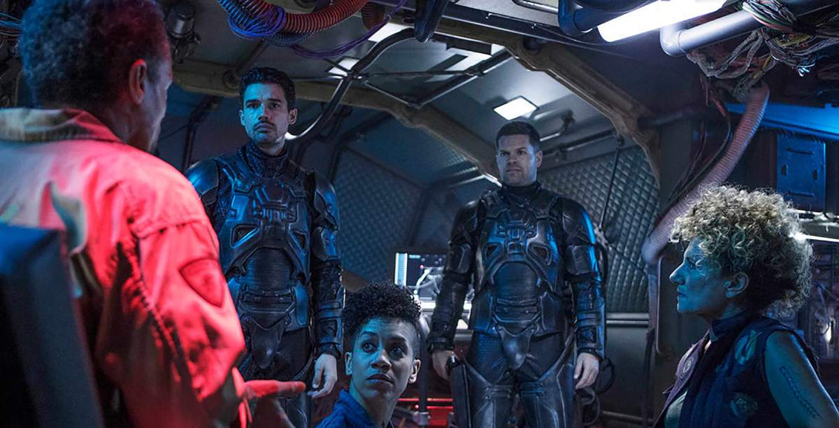 Cartaz do filme The Expanse