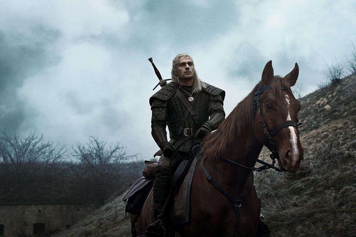 Cartaz do filme The Witcher - O Filme