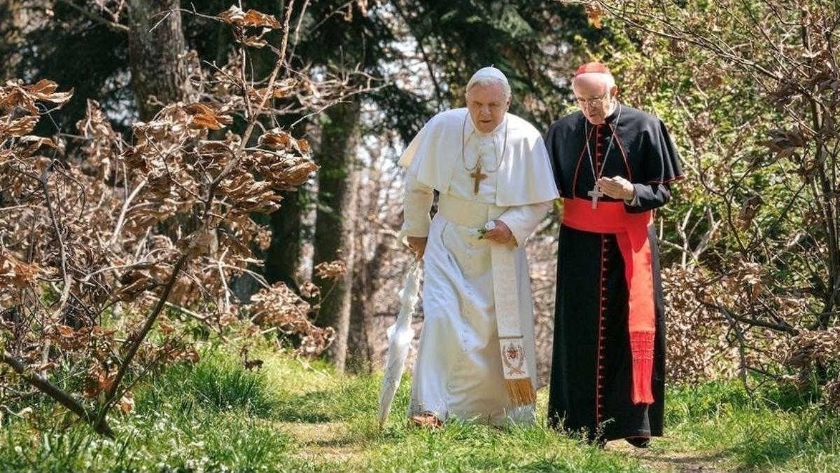Cartaz do filme Dois Papas