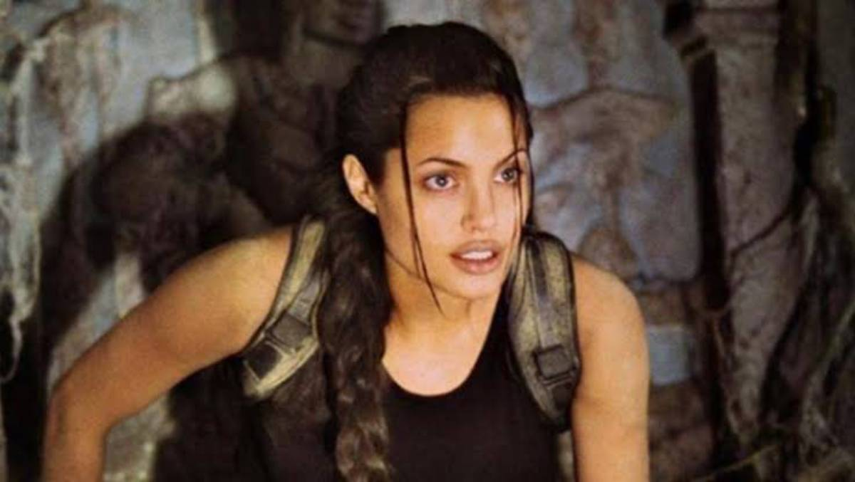 Cartaz do filme Lara Croft: Tomb Raider - O Filme