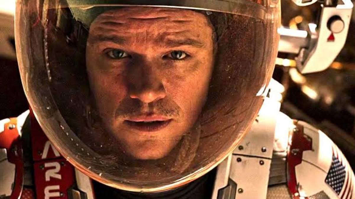 Cartaz do filme Perdido em Marte