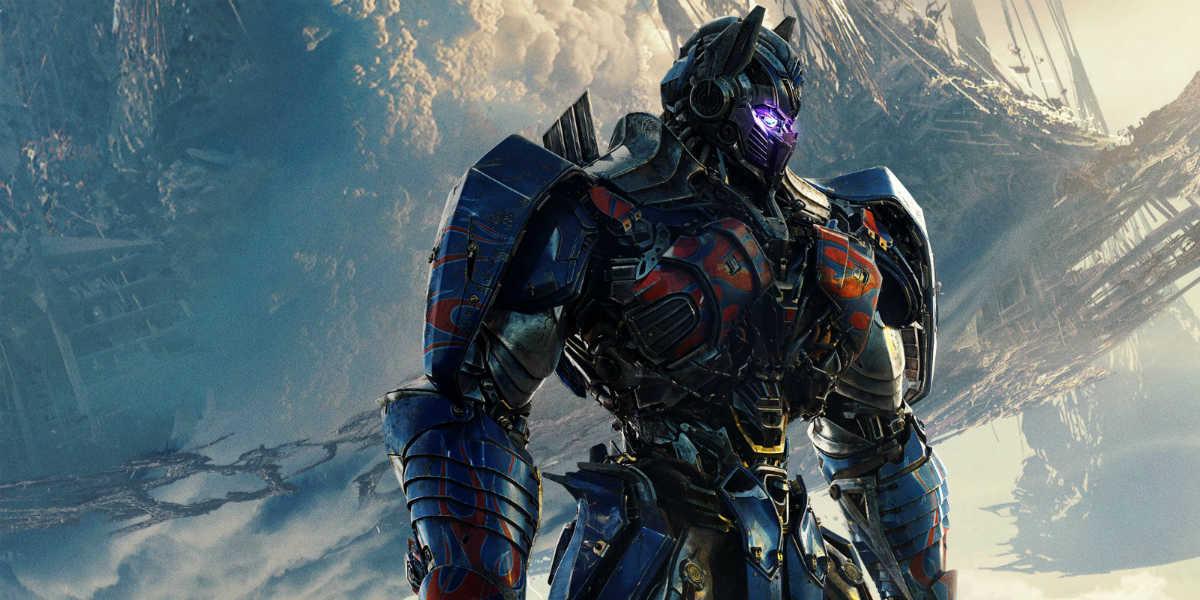 Cartaz do filme Transformers: O Último Cavaleiro