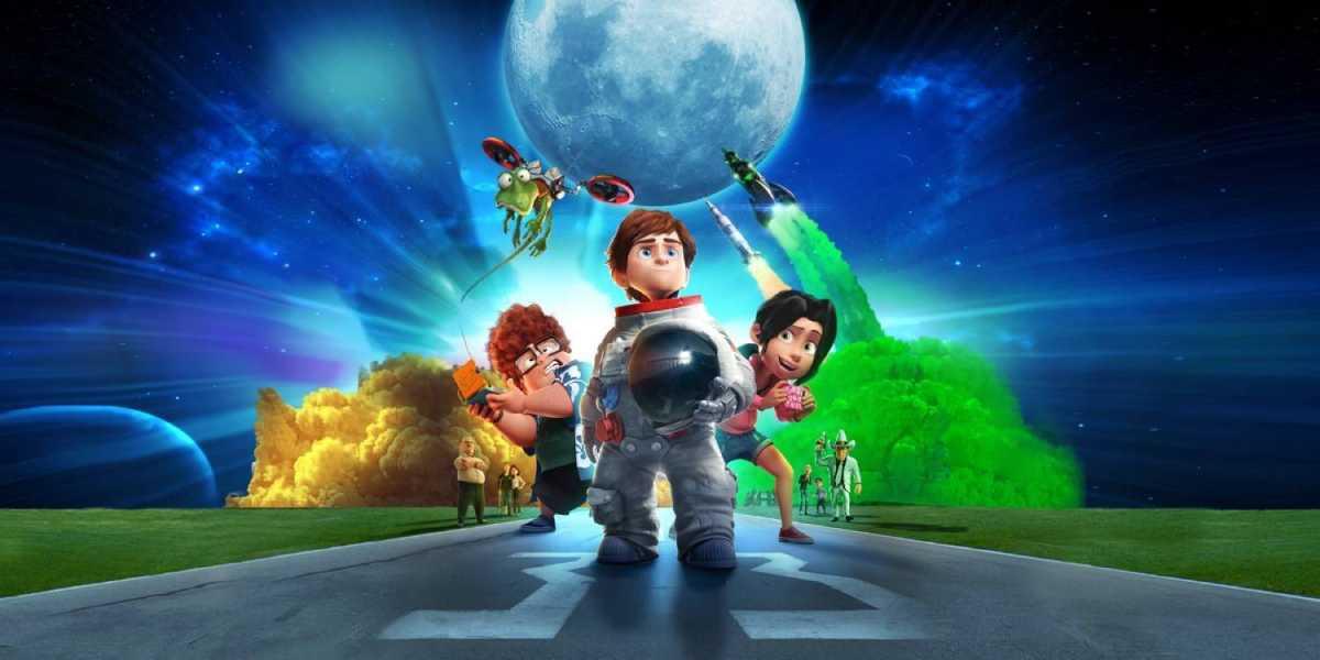 Cartaz do filme No Mundo da Lua
