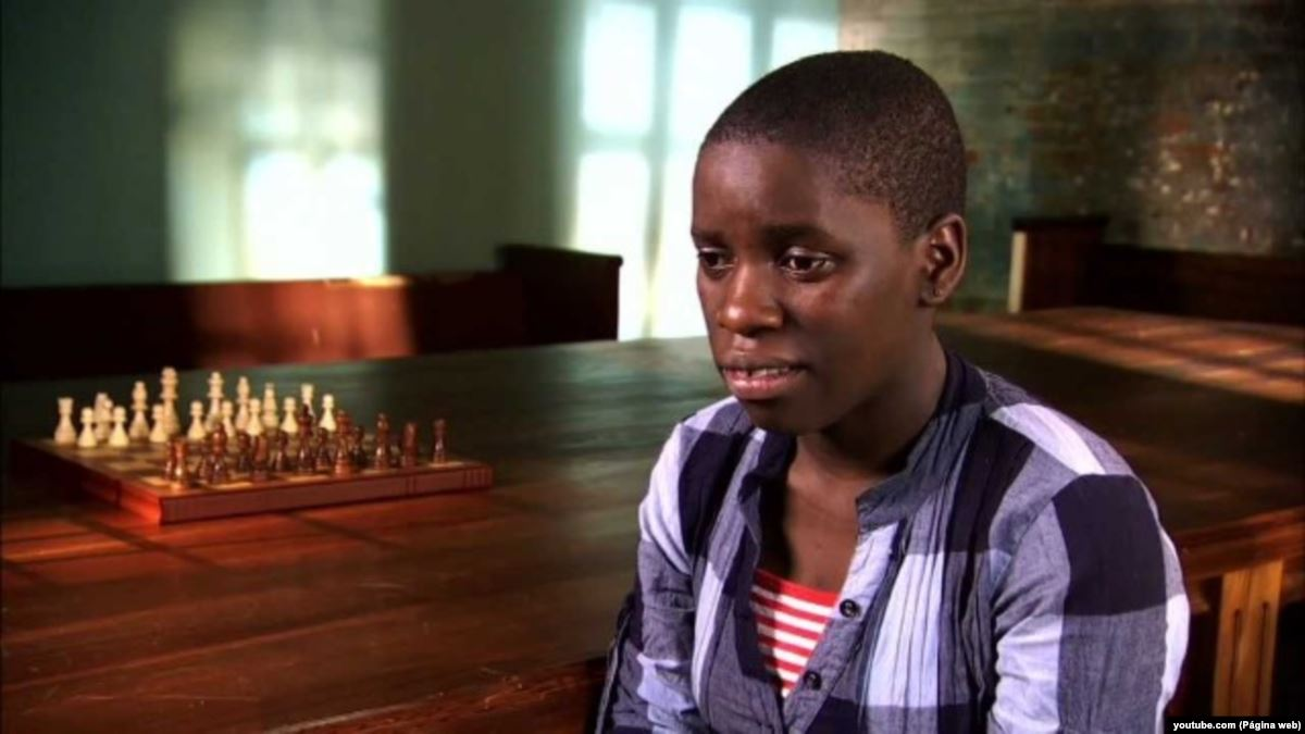 A verdadeira história de Phiona Mutesi do filme Rainha de Katwe