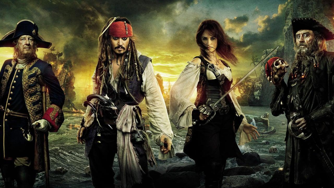 Cartaz do filme Piratas do Caribe: Navegando em Aguas Misteriosas - O Filme