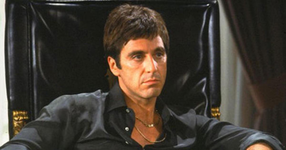 Cartaz do filme Scarface - O Filme