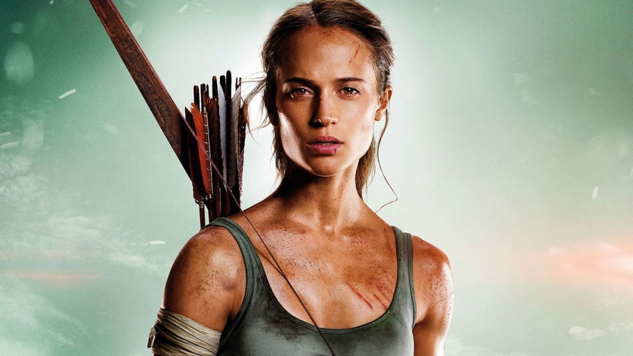 Cartaz do filme Tomb Raider: A Origem