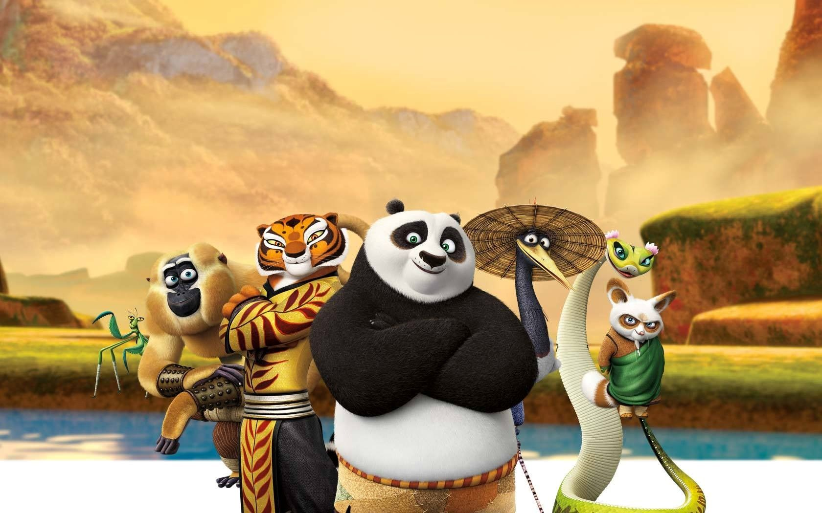 Cartaz do filme Kung Fu Panda