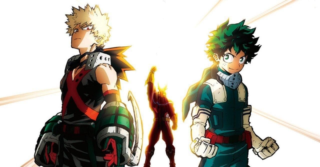 Cena do anime My Hero Academia