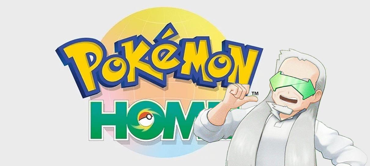 Pokémon Home já está disponível para Nintendo Switch e celulares