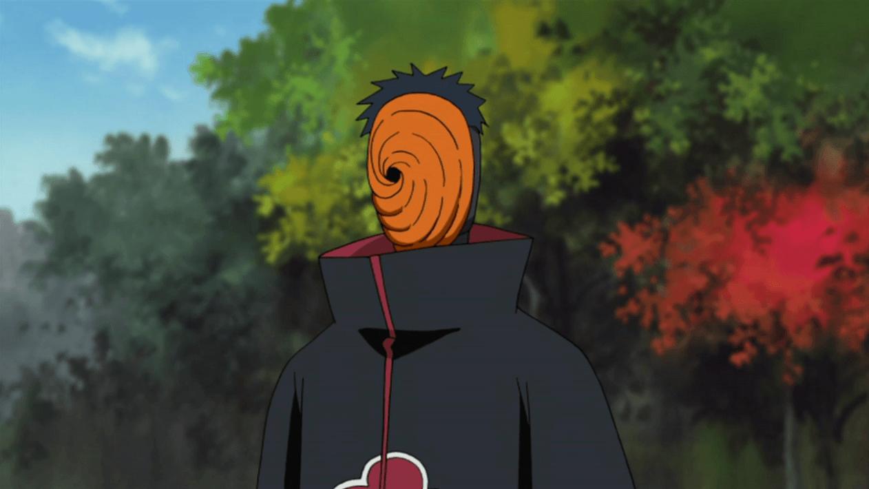 Quem conhecia a identidade de Tobi no anime?