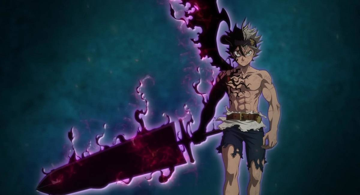 Cena do anime Black Clover