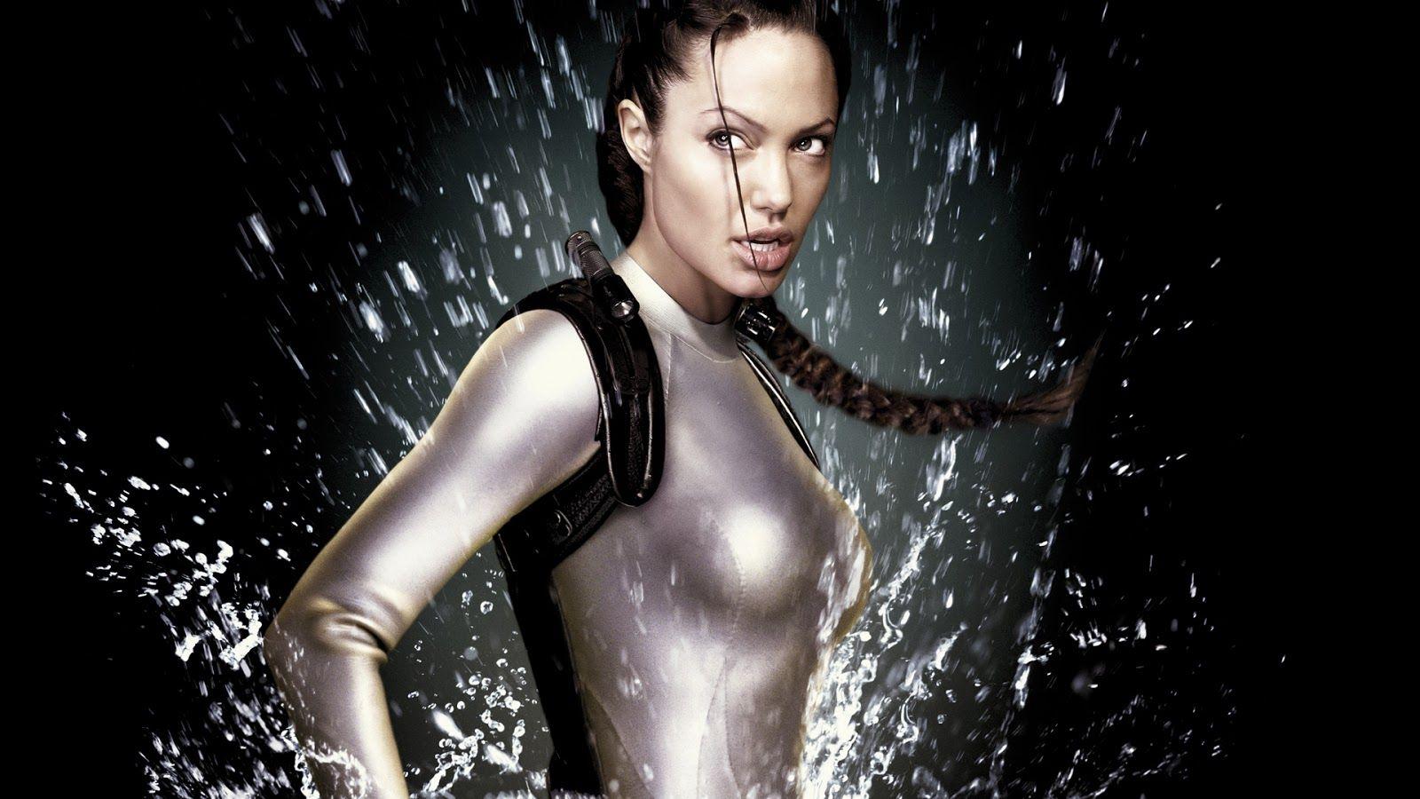Cartaz do filme Lara Croft Tomb Raider: A Origem da Vida - O Filme
