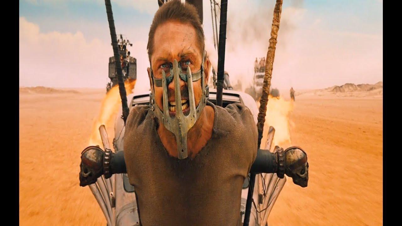 Cartaz do filme Mad Max: Estrada da Fúria