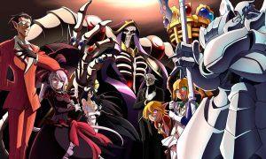 Cena do anime Overlord