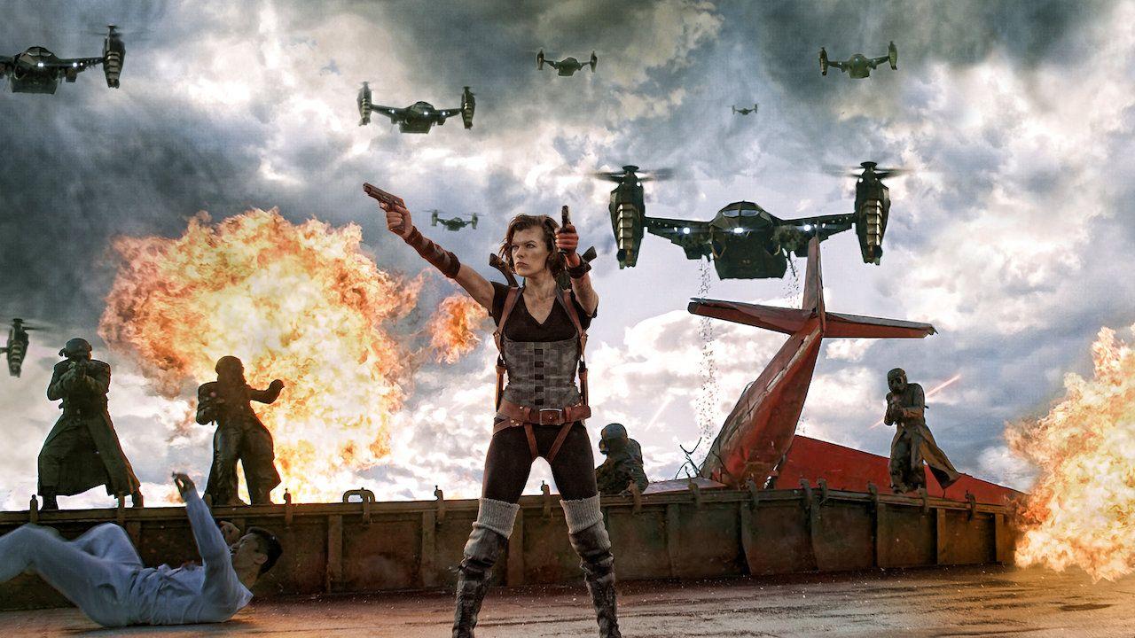 Cartaz do filme Resident Evil 5: Retribuição - O Filme