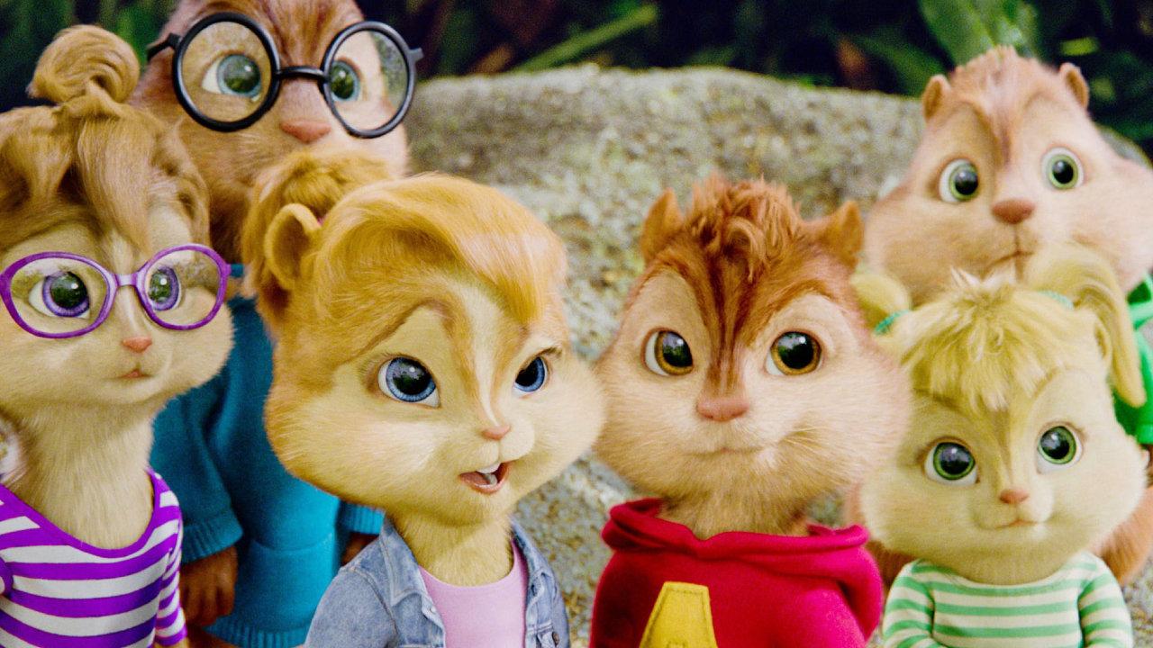 Cartaz do filme Alvin e os Esquilos 3 - O Filme
