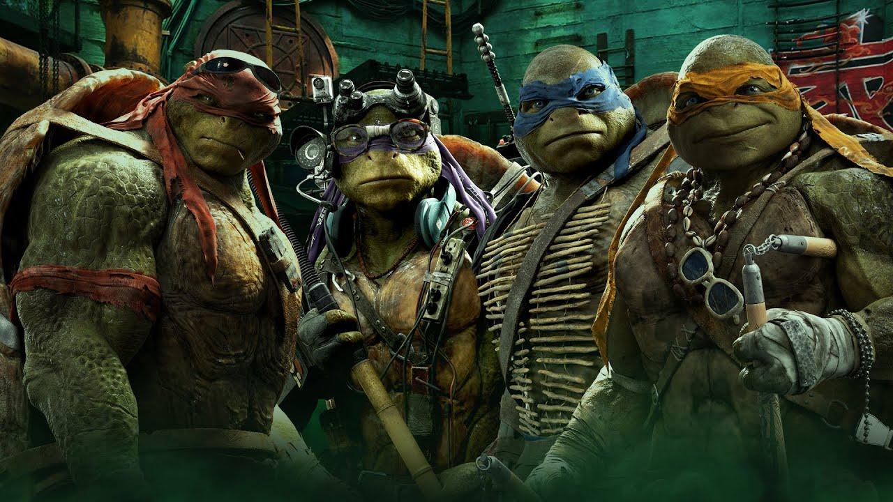 Cartaz do filme As Tartarugas Ninjas - O Filme