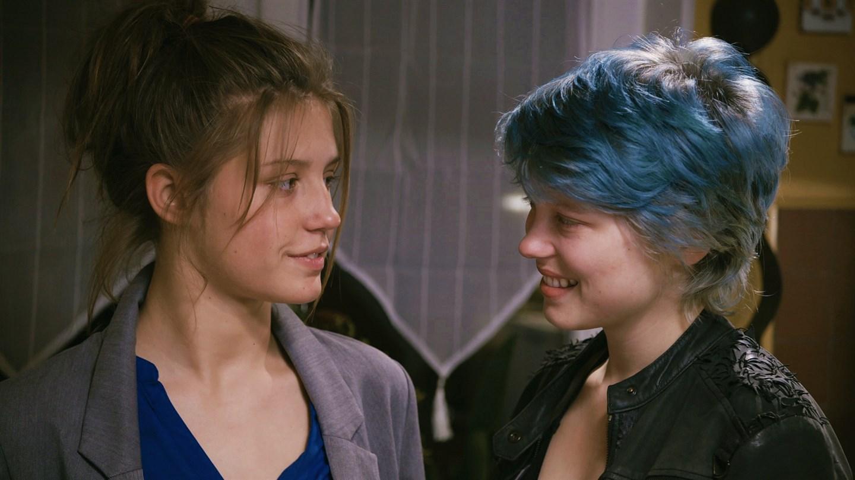 Cartaz do filme Azul é a Cor Mais Quente - O Filme