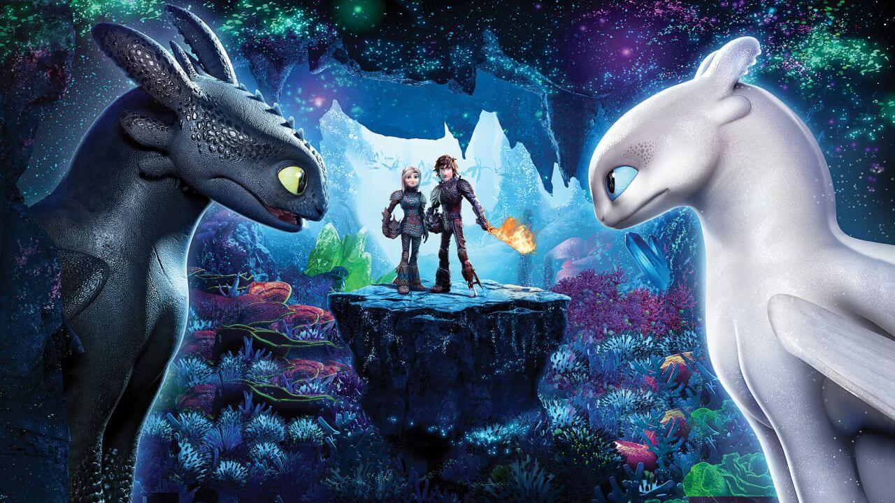 Cartaz do filme Como Treinar Seu Dragão 3