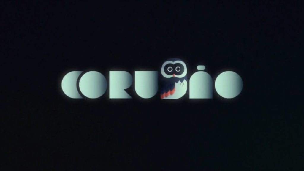 Novo logo do Corujão, a sessão de filmes da madrugada na Rede Globo