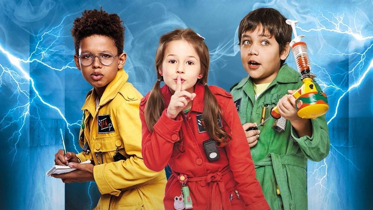 Cartaz do filme Detetives do Prédio Azul (D.P.A.): O Filme
