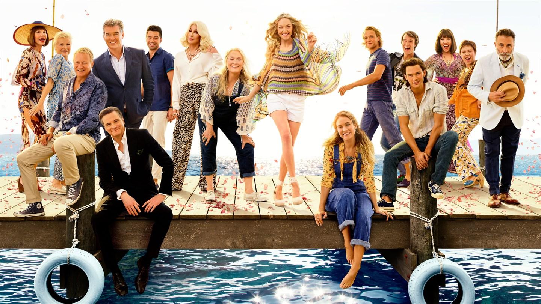 Cartaz do filme Mamma Mia: Lá Vamos Nós de Novo