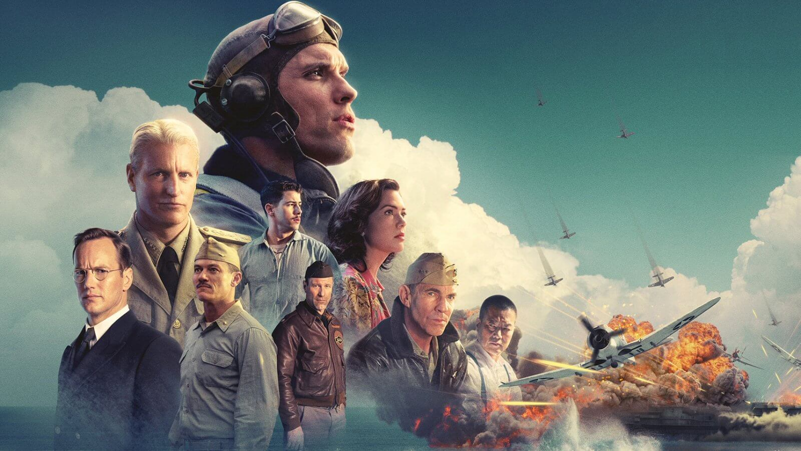Cartaz do filme Midway: Batalha em Alto Mar - O Filme