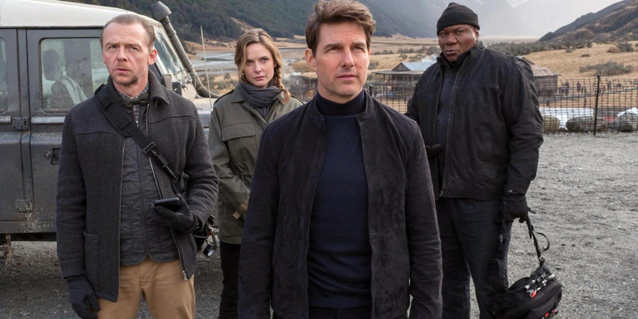 Cartaz do filme Missão Impossível: Efeito Fallout