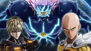 Cena do anime One Punch Man