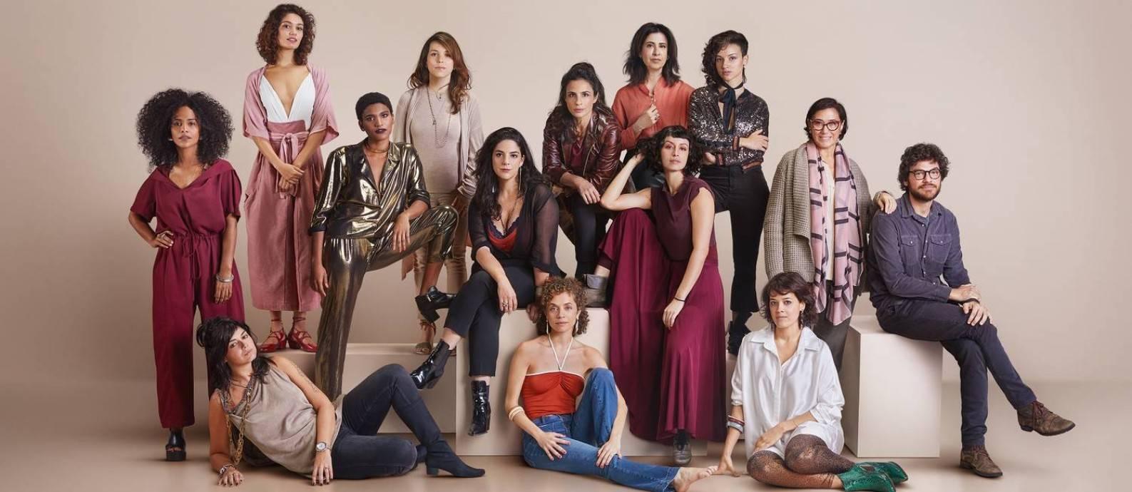 Filme Elenco da série Todas as Mulheres do Mundo do Globoplay