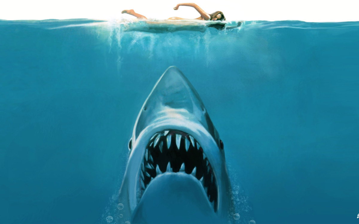 Cartaz do filme Tubarão - O Filme