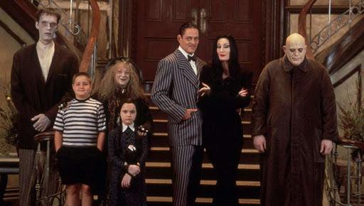 Cartaz do filme A Família Addams (1991) - O Filme