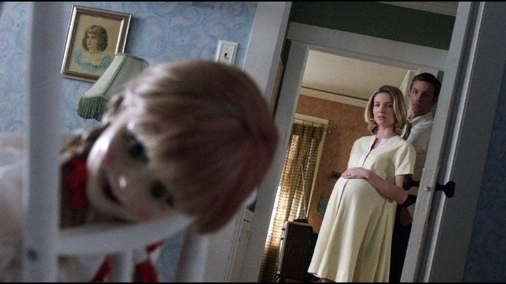 Melhores Filmes de Terror na Netflix - Cena do filme annabelle