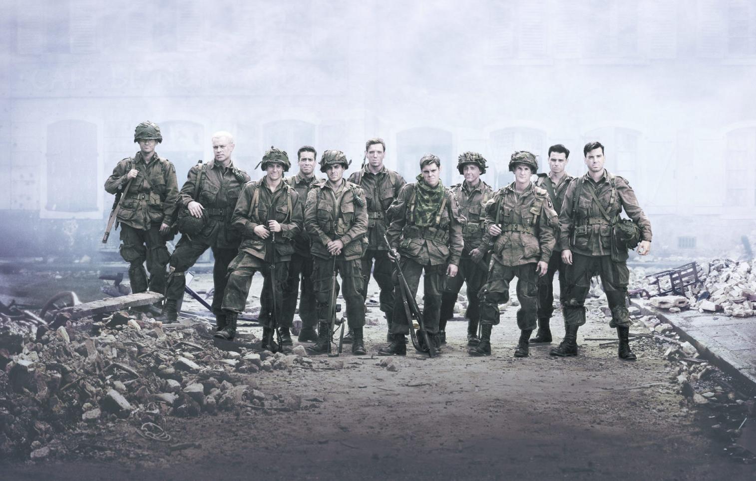 Cartaz do filme Band of Brothers - O Filme