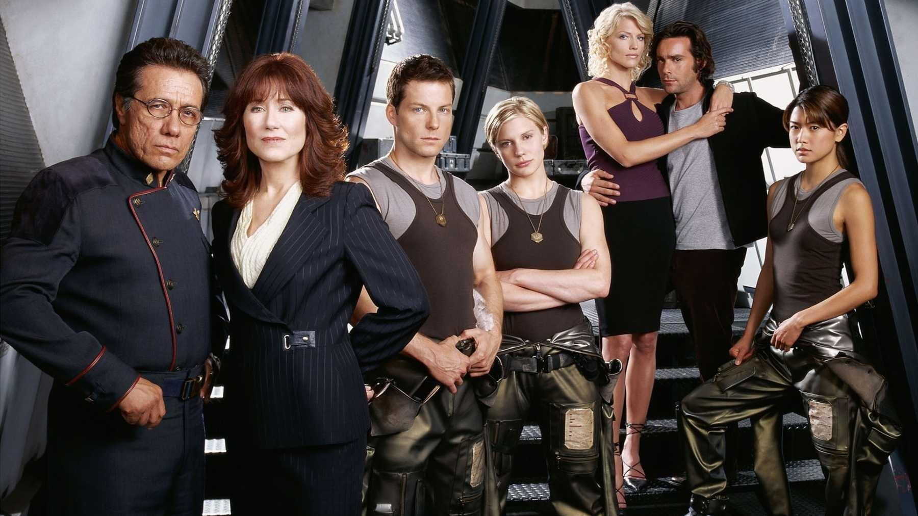 Cartaz do filme Battlestar Galactica - O Filme