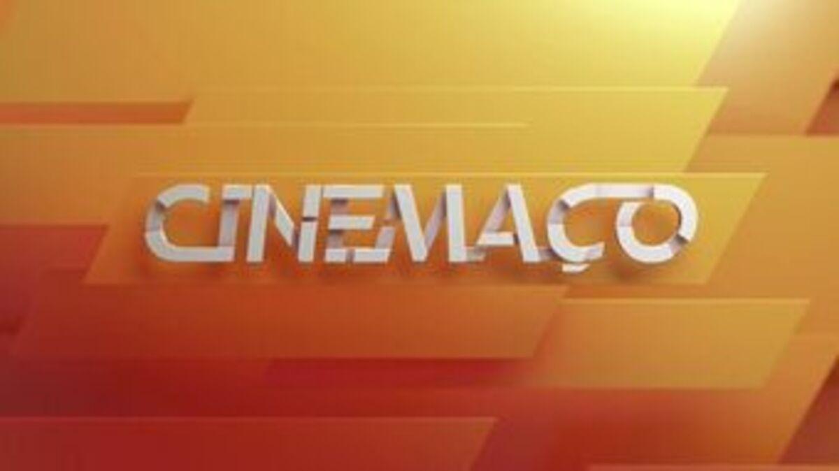 Logotipo do Cinemaço, sessão de cinema das noites de domingo na Rede Globo