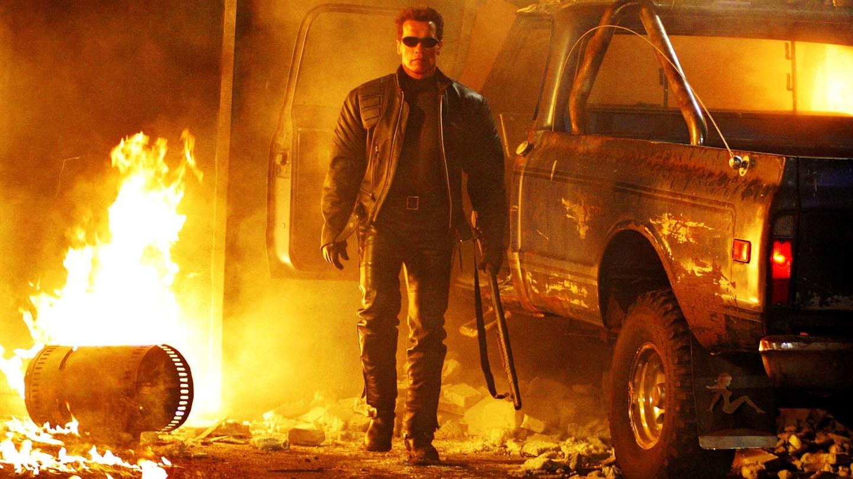 Cartaz do filme O Exterminador do Futuro 3: A Rebelião das Máquinas - O Filme