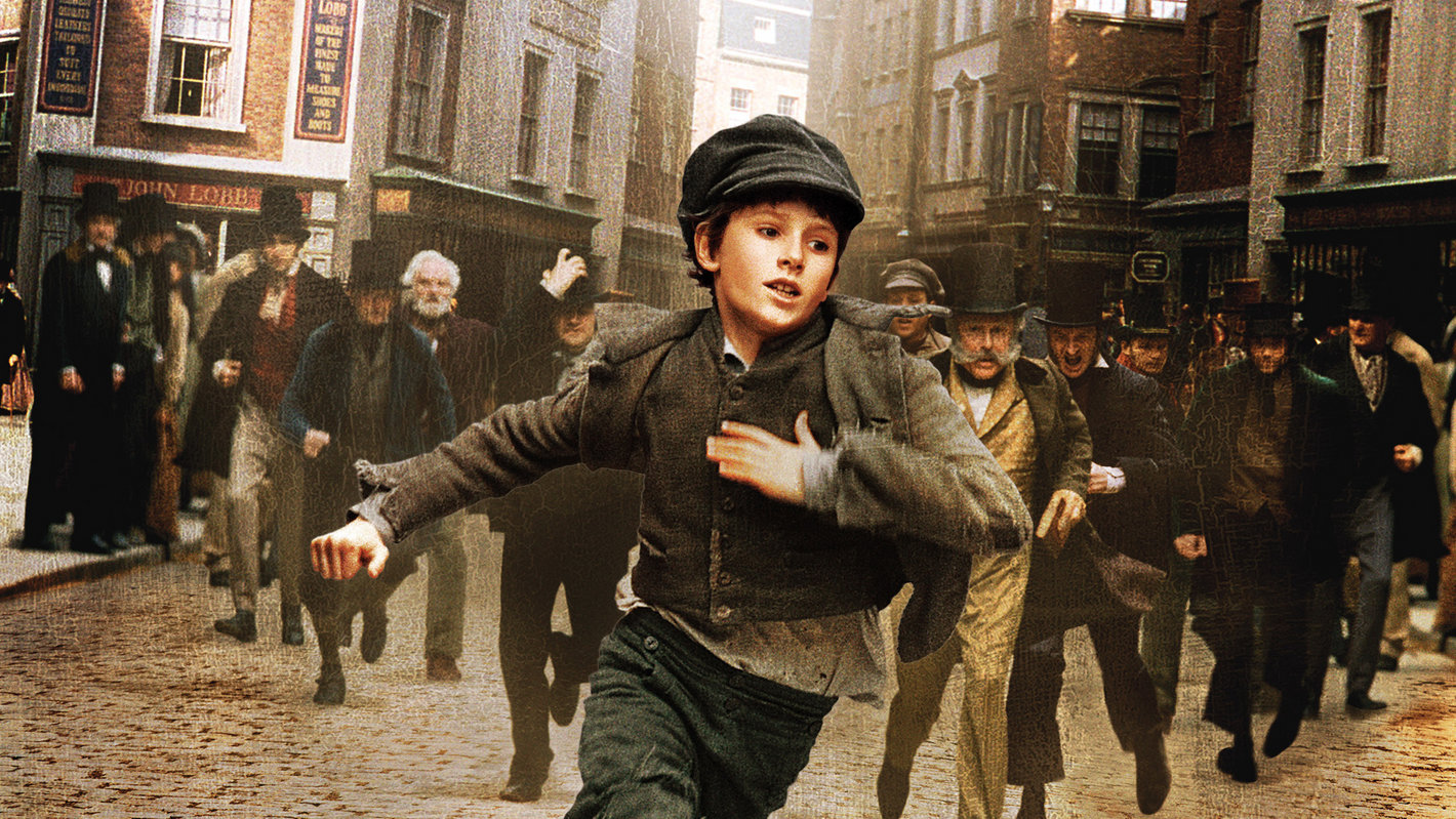 Cartaz do filme Oliver Twist