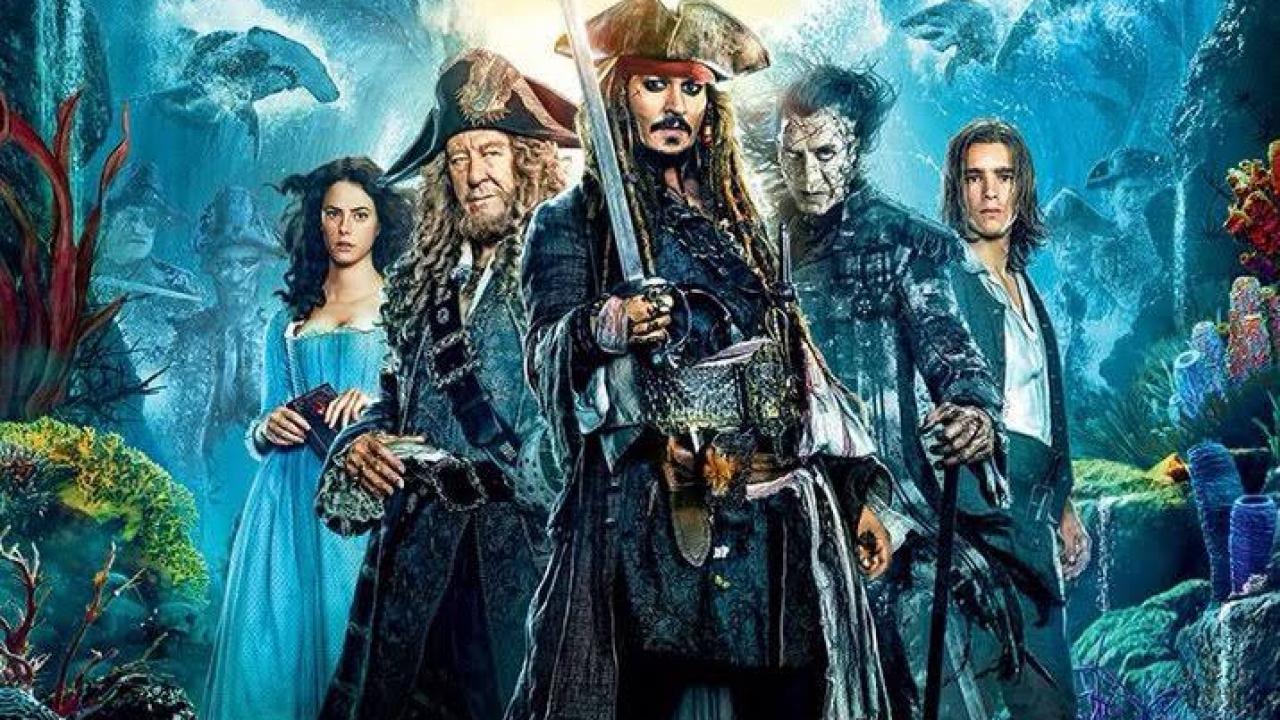 Cartaz do filme Piratas do Caribe: A Vingança de Salazar - O Filme