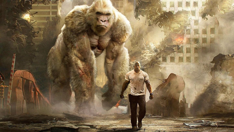 Cartaz do filme Rampage: Destruição Total - O Filme