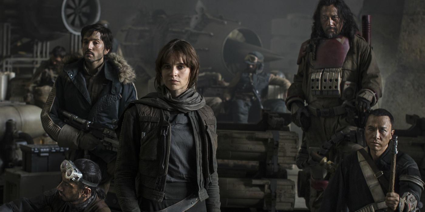 Cartaz do filme Rogue One: Uma História Star Wars - O Filme