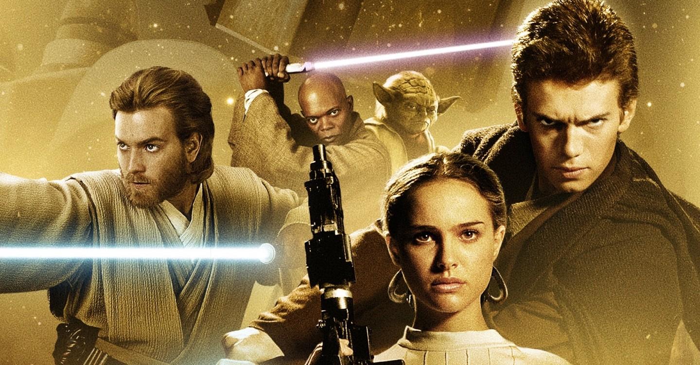 Cartaz do filme Star Wars: Episódio II - Ataque dos Clones