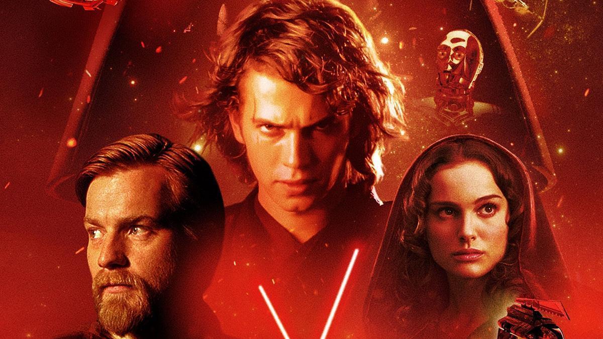 Cartaz do filme Star Wars: Episódio III - A Vingança dos Sith - O Filme