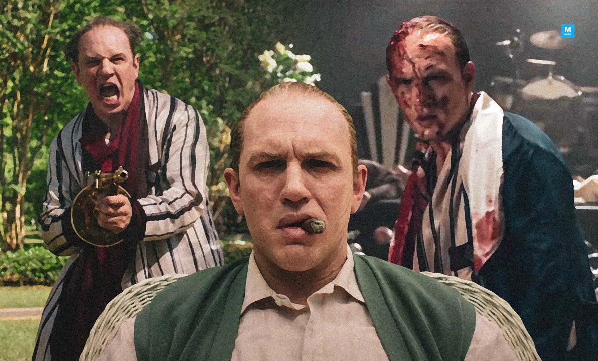 Foto mostra detalhes da transformação de Tom Hardy para o papel