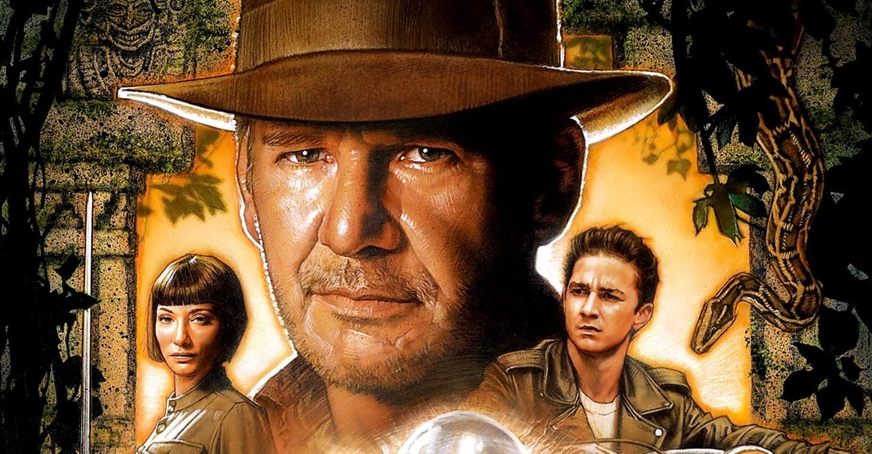 Cartaz do filme Indiana Jones e o Reino da Caveira de Cristal - O Filme