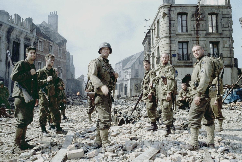 Cartaz do filme O Resgate do Soldado Ryan