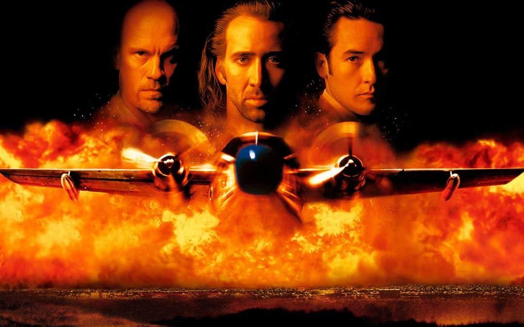 Cartaz do filme Con Air: A Rota da Fuga - O Filme