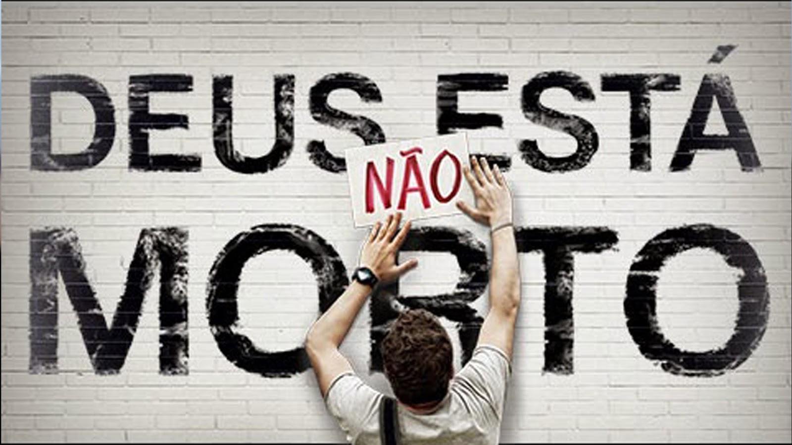 Cartaz do filme Deus Não Está Morto - O Filme